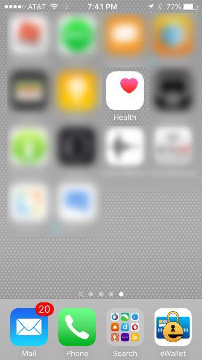Iphone medical ID app