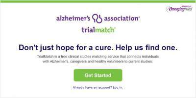 Alzheimers TrialMatch