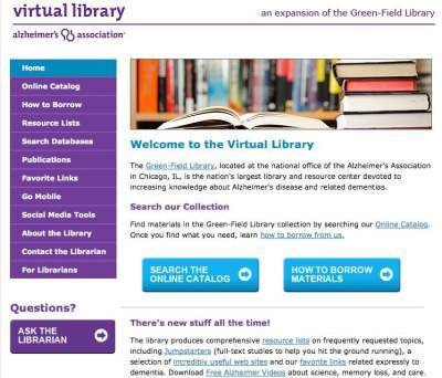 Alzheimers Virtual Library