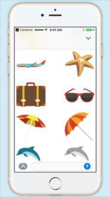 Cruise Vacation Stickers app