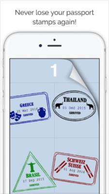 Passport Stamps app